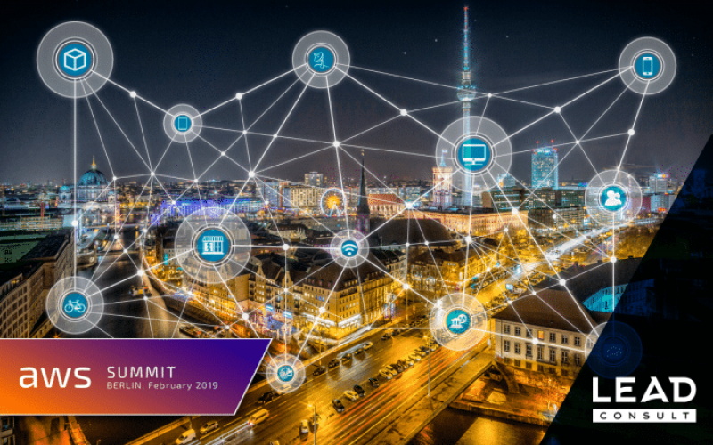LEAD CONSULT AT AWS SUMMIT BERLIN 2019 – PROVIDING SCALABLE SOLUTIONS IN 2019