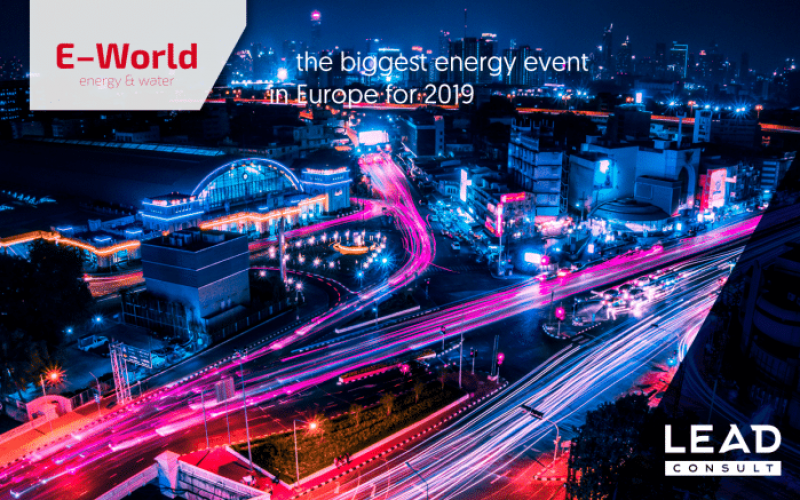 LEAD CONSULT AT E-WORLD 2019 – the future of Energy Markets explored