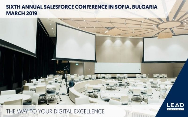 LEAD CONSULT AT SIXTH ANNUAL SALESFORCE CONFERENCE – GOING DIGITAL